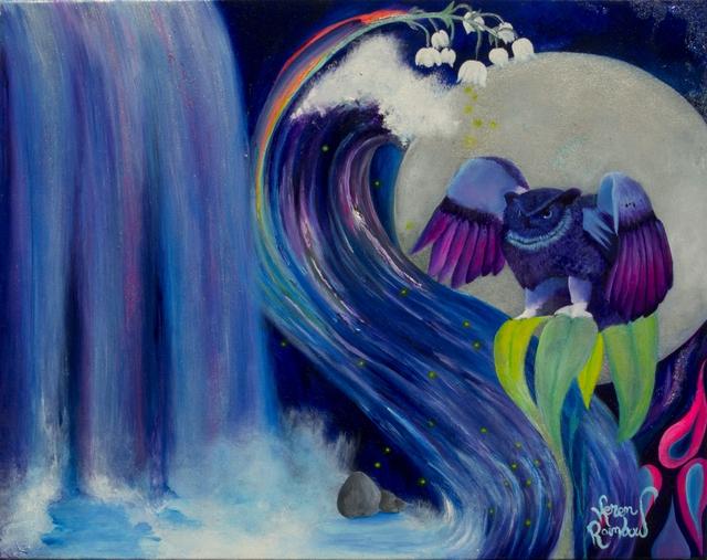 Original oil painting by Keren Rainbow